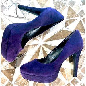 Jessica Simpson Suede Platform Heels